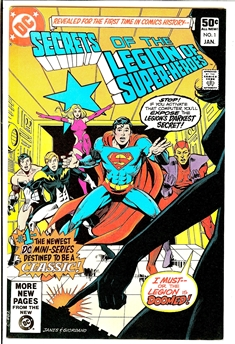 Secrets of the Legion of Super-Heroes #1