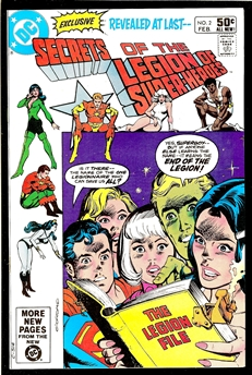 Secrets of the Legion of Super-Heroes #2