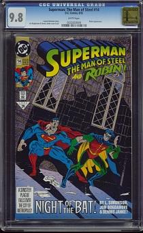 Superman: Man of Steel #14