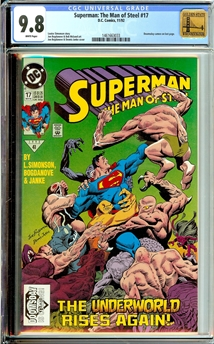 Superman: Man of Steel #17