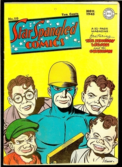 Star Spangled Comics #50