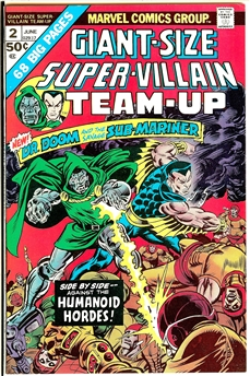 Super-Villain Team-Up Giant-Size #2