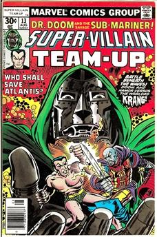 Super-Villain Team-Up #13