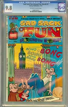 Sad Sack Fun Around the World #1