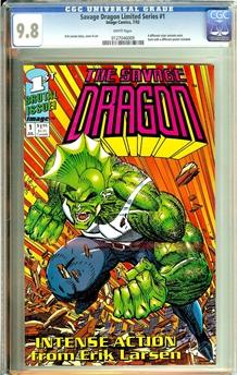 Savage Dragon Limited Series #1