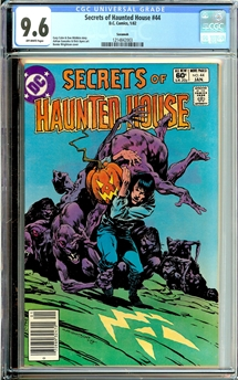 Secrets of Haunted House #44
