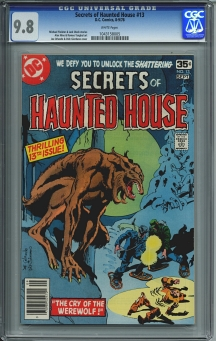 Secrets of Haunted House #13