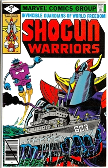 Shogun Warriors #8