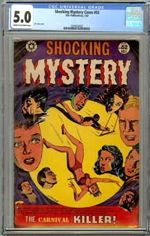 Shocking Mystery Cases #52