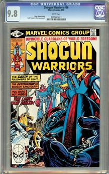 Shogun Warriors #16