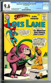 Superman's Girlfriend Lois Lane #54
