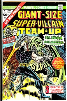 Super-Villain Team-Up Giant-Size #1