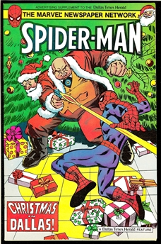 Spider-Man Christmas in Dallas #1