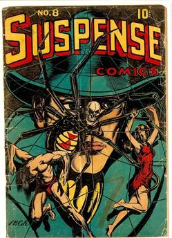 Suspense Comics #8
