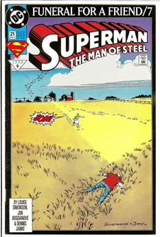 Superman: Man of Steel #21