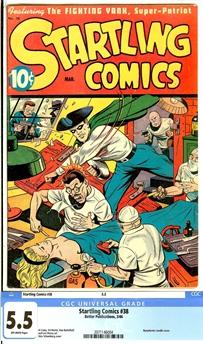 Startling Comics #38