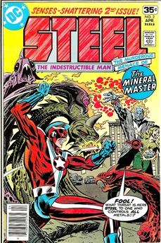 Steel The Indestructible Man #2