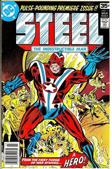 Steel The Indestructible Man #1