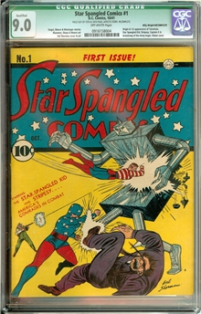 Star Spangled Comics #1