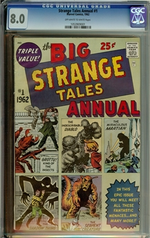 Strange Tales Annual #1