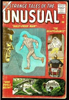 Strange Tales of the Unusual #8