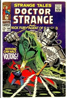 Strange Tales #166