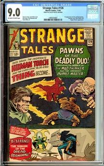 Strange Tales #126