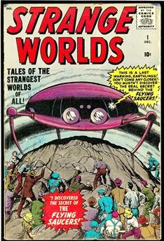 Strange Worlds #1