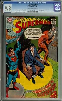 Superman #211