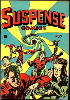 Suspense Comics #9