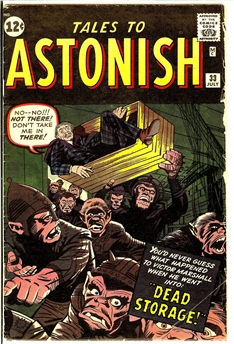 Tales to Astonish #33