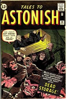 Tales to Astonish #33