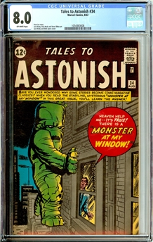 Tales to Astonish #34