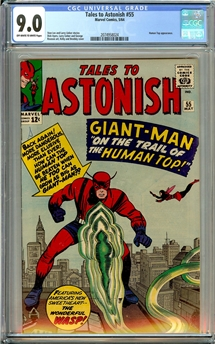 Tales to Astonish #55