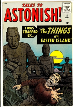 Tales to Astonish #5