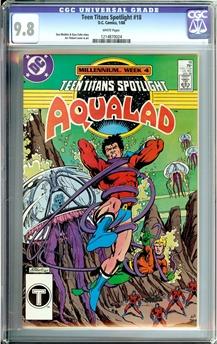 Teen Titans Spotlight #18
