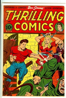 Thrilling Comics #54