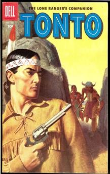 Lone Ranger's Companion Tonto #25