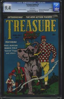 Treasure Comics #1