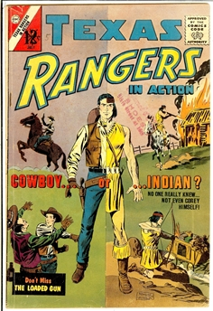 Texas Rangers in Action #40