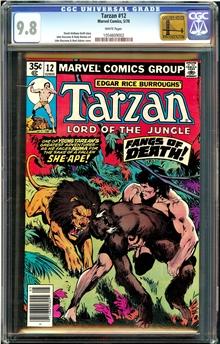 Tarzan #12
