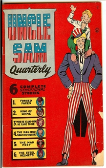 Uncle Sam Quarterly #1