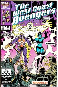 West Coast Avengers #12