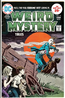 Weird Mystery Tales #16