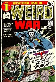 Weird War Tales #1