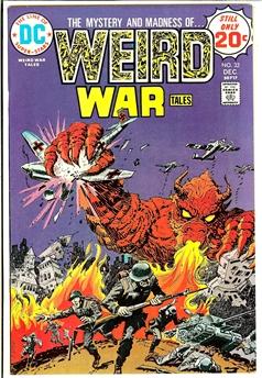 Weird War Tales #32