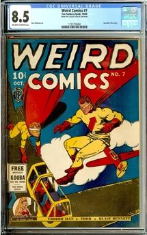 Weird Comics #7