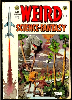 Weird Science-Fantasy #25