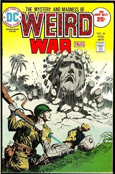 Weird War Tales #34