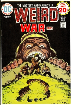 Weird War Tales #28